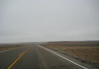 Saskatchewan Highway 2 - Assiniboia approach