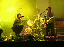The Tears performing at Roskilde Festival in Denmark in 2005