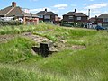 The Vallum crossing at Benwell Fort (2) - geograph.org.uk - 837839.jpg