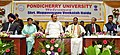 The Vice President, Shri M. Venkaiah Naidu at the Pondicherry University, in Puducherry.JPG