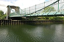 The Victoria Suspension Bridge, Bath - geograph.org.uk - 546748.jpg