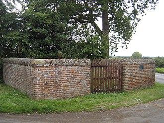 Animal pound - North Elmham village pound, Norfolk