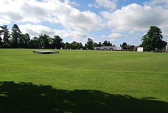 Vine Cricket Ground - Image: The Vine cricket ground, Sevenoaks geograph.org.uk 856401