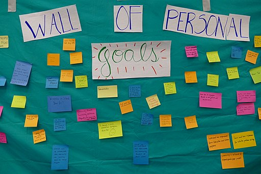 The Wall of personal goals 01