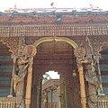 The entrance of the royal temple in kalpa (spiti valley himachal pradesh).jpg
