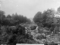 The falls, Dolanog NLW3362372.jpg