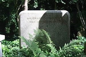 Charles Fellows - The grave of Sir Charles Fellows, Highgate Cemetery, London