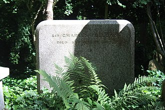 Charles Fellows - The grave of Sir Charles Fellows, Highgate Cemetery, London