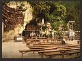 The grotto of Notre Dame, Lourdes, Pyrenees, France-LCCN2001698648.jpg