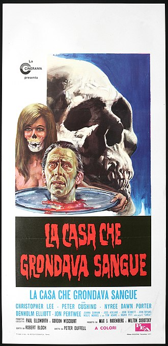 The House That Dripped Blood - Poster for Italian version