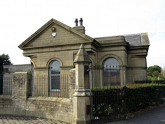 Undercliffe Cemetery - The lodge at the southern entrance