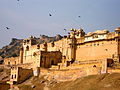The majestic Amber Fort.JPG