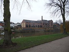 The old Kingsland Brewery beside the River Severn, Shrewsbury (geograph 2798195).jpg