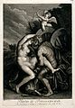 The rape of Proserpine. Engraving after Titian. Wellcome V0048202.jpg