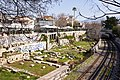 The recently excavated part of the Ancient Agora of Athens from a bridge near to the Temple of Hephaestus.jpg