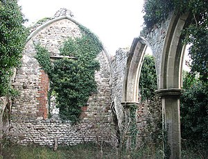 Felix of Burgundy - The remains of St Felix's, Babingley. It was one of three churches in East Anglia dedicated to the saint