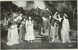 A Good Little Devil - Mary Pickford and Ernest Truex in the 1913 Broadway production of A Good Little Devil
