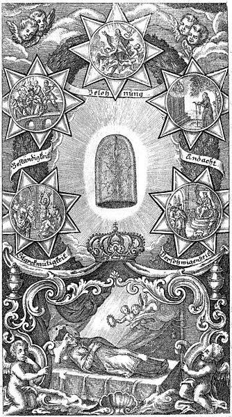 File:The tongue of St. John Nepomuk surrounded by five episodes o Wellcome M0005656.jpg