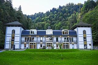 Thermes de Saint Gervais Mont-Blanc French spa