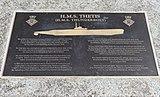 Thetis plaque, Woodside.jpg