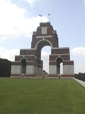 Essex Regiment - The Thiepval Memorial
