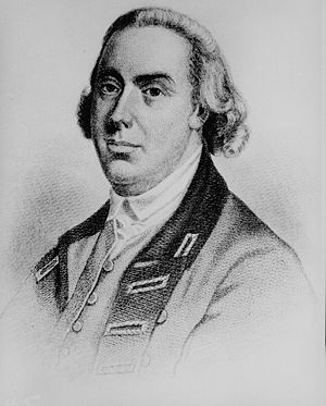 Thomas Gage - An engraved portrait of Gage