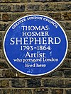 Thomas Hosmer Shepherd 1793-1864 artist who portrayed London lived here.jpg