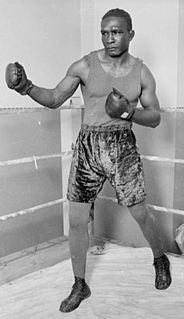 Tiger Flowers African-American boxer