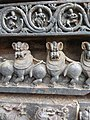 Tigers of Halebid's Hoysalaeshwara temple.jpg