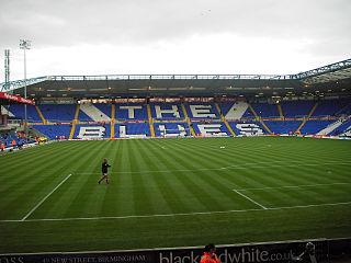 St Andrews (stadium) Football stadium in the Bordesley district of Birmingham