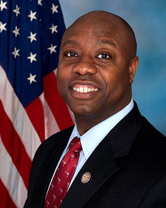 Tim Scott - Scott's official 112th Congress portrait
