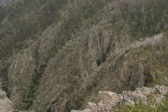 Tin Mine Falls - The forbidding terrain around Tin Mine Falls