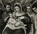 Tintoretto - Madonna con Bambino tra santi, 1540 ca. - 1545 ca., Collezione privata, Cremona.jpg