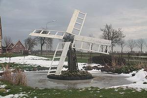 Tjaskers in Drenthe - Tjasker Nijeveen, December 2009