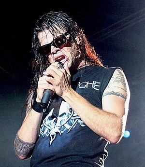 Todd La Torre - La Torre performing with Queensrÿche in 2012.