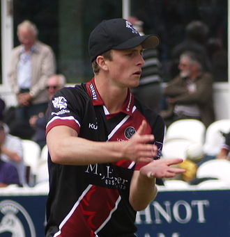 Tom Abell - Abell representing Somerset in 2015.