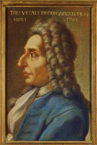 Tomaso Antonio Vitali - Image: Tomaso Antonio Vitali