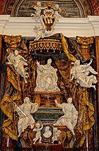 Tomb Gregorius XV Sant Ignazio