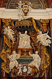 The tomb of Pope Gregory XV