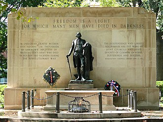 Washington Square (Philadelphia) - The Tomb of the Unknown Revolutionary War Soldier