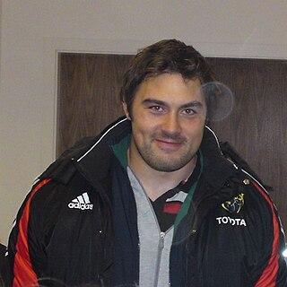 Tony Buckley Irish rugby union player