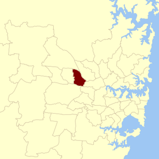 Electoral district of Toongabbie state electoral district of New South Wales, Australia