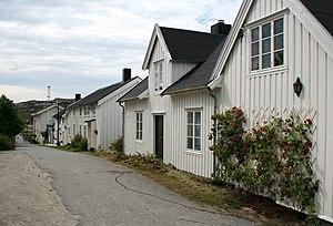 Rørvik - Image: Torggata Rørvik