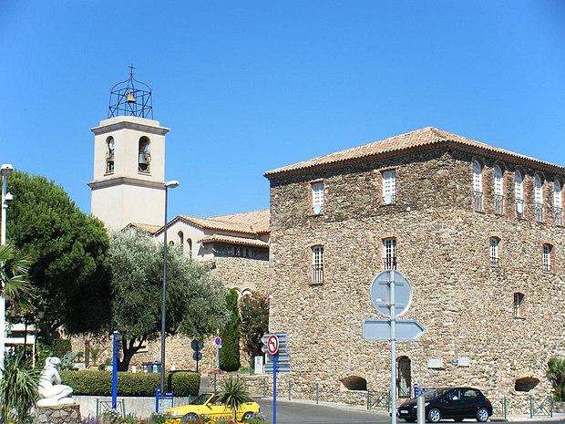Monument historique à Sainte-Maxime