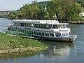 Tour boat on river danube in kelheim 4.JPG