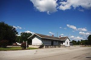 Town Creek, Alabama - Former train station in Town Creek