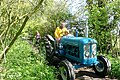 Tractor on the Devil's Highway - 3 of 3 - geograph.org.uk - 1303619.jpg