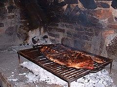 Traditional asado
