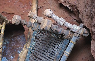 Bed frame - Traditional Ethiopian bed frames