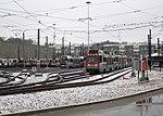 Trains in Riverside Yard (2), December 2017.JPG